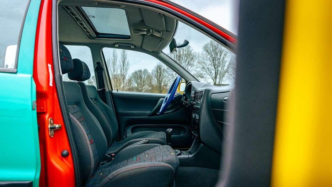 Ein Blick ins Innere des neu aufgelegte VW Polo Harlekin (2021)