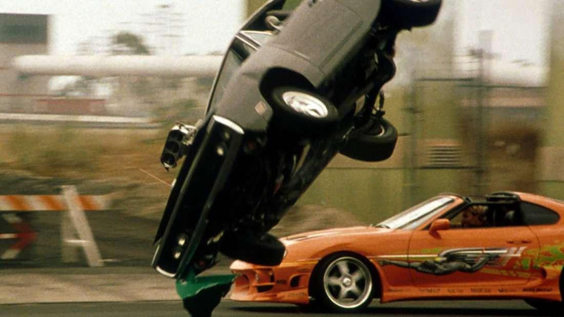 """Szene aus dem ersten """"The Fast and the Furious""""-Film von 2001"""