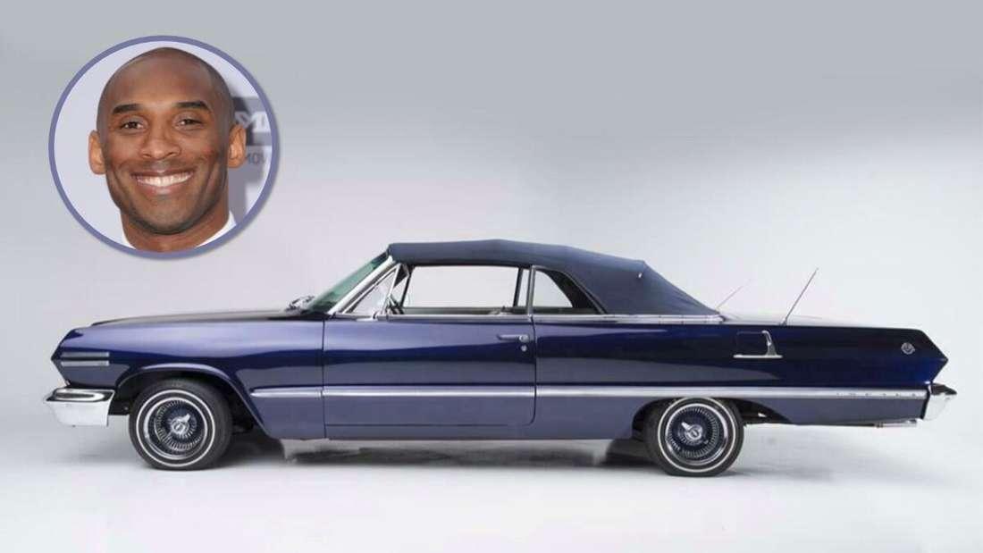 Ein 1963er Chevrolet Impala Cabriolet und die verstorbene NBA-Legende Kobe Bryant