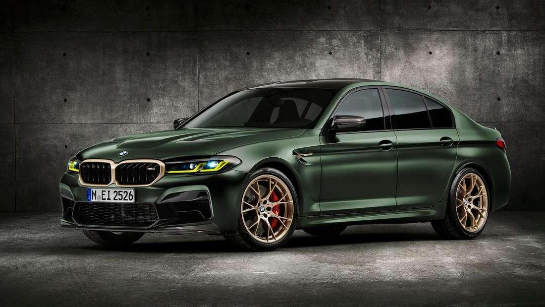 Ein BMW M5 CS