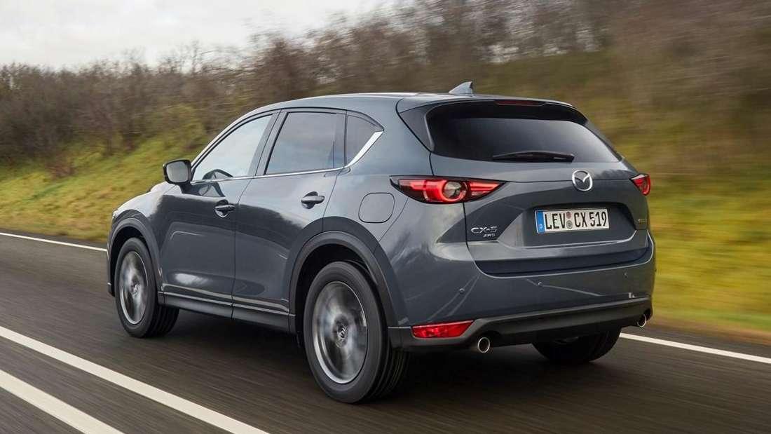 Fahraufnahme eines Mazda CX-5