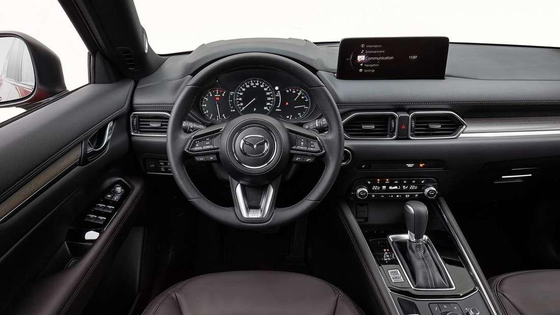 Blick in den Innenraum eines Mazda CX-5