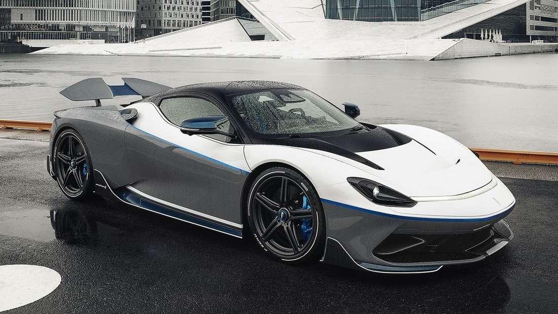 Ein Pininfarina Battista.