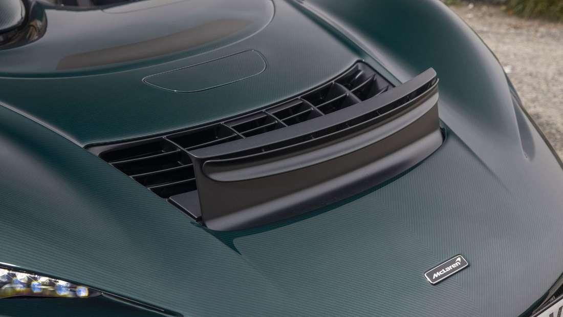 Die Aeroschranke des McLaren Elva