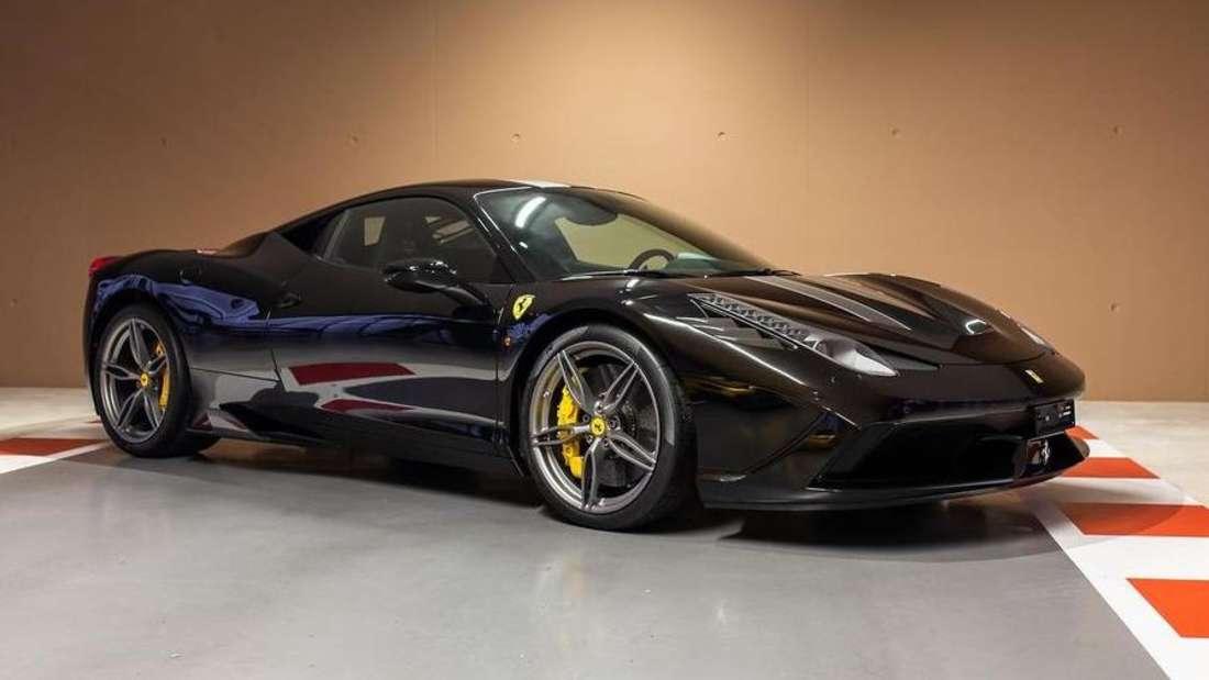 Ein Ferrari 458 Speciale