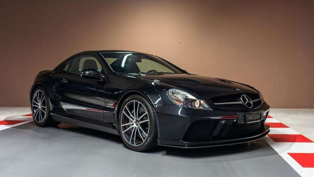 Ein Mercedes-Benz SL65 AMG Black Series