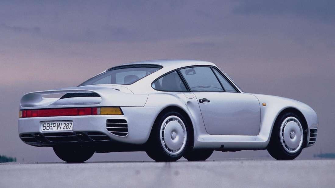 Ein Porsche 959