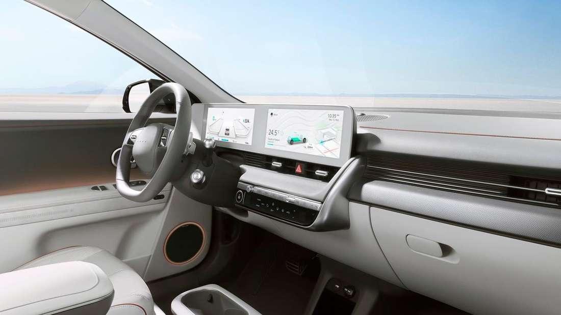Blick in den Innenraum des Hyundai Ioniq 5