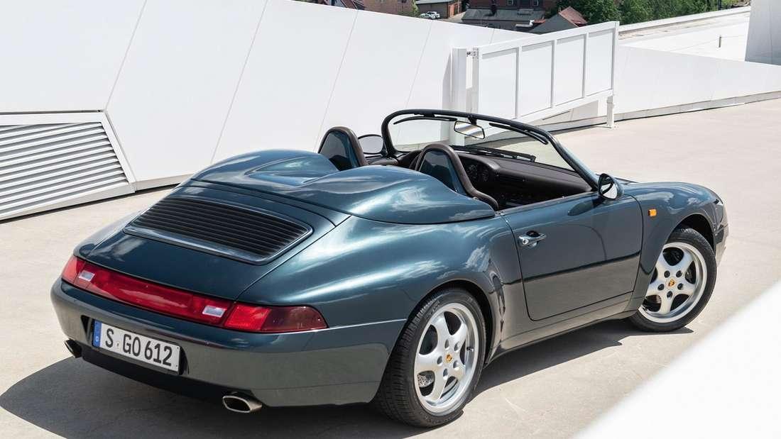 Ein Porsche 911 993 Speedster