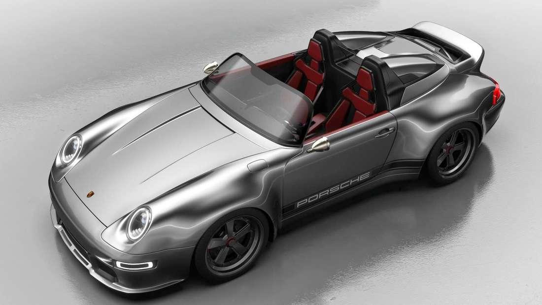 Ein Porsche 911 993 Speedster Remastered von Gunther Werks