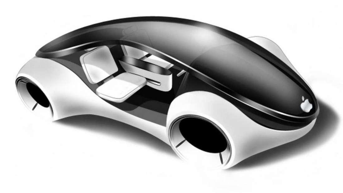 Entwurf für ein mögliches Apple iCar