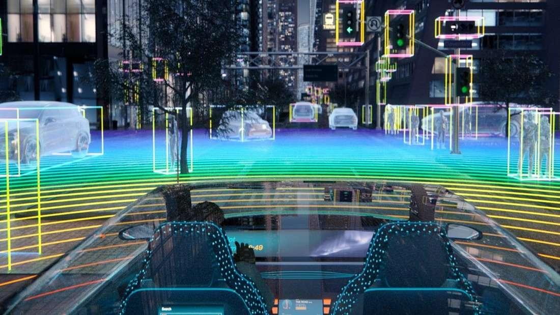Veranschaulichung der Funktionsweise von Osram-Infrarot-Lasern
