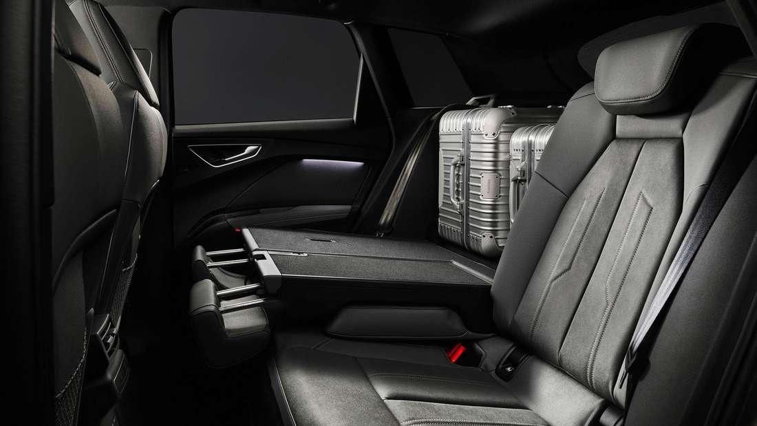 Der Fond des Audi Q4 e-tron