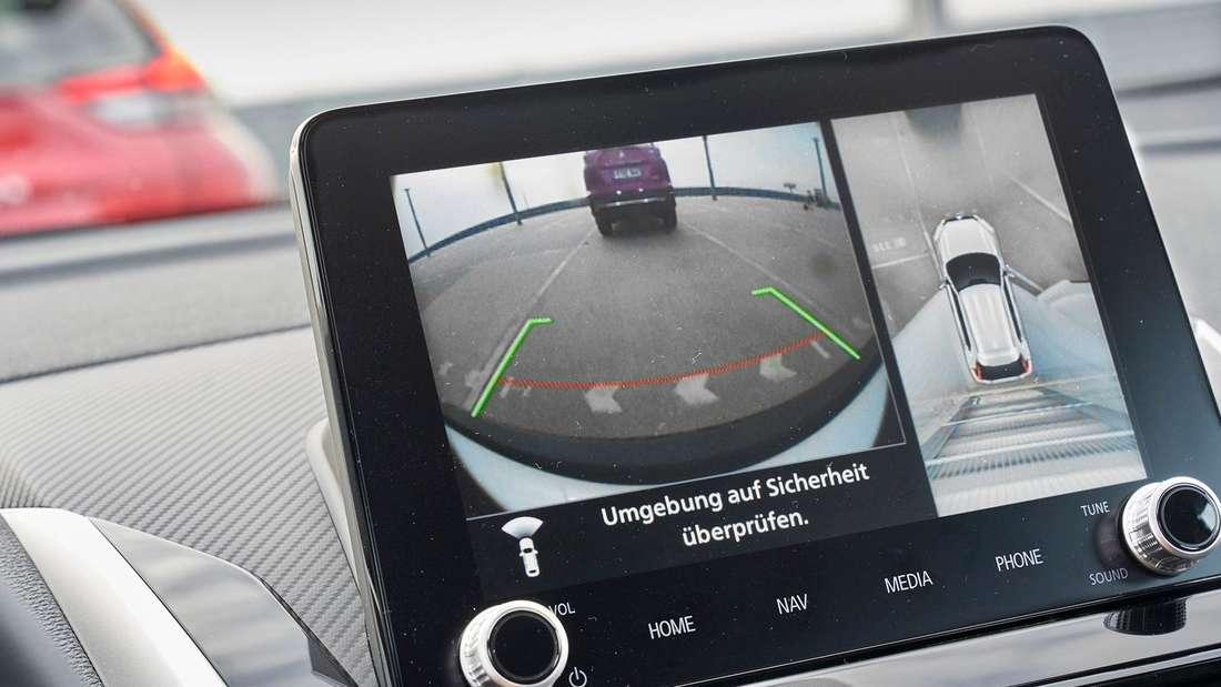 Der Touchscreen des Mitsubishi Eclipse Cross PHEV