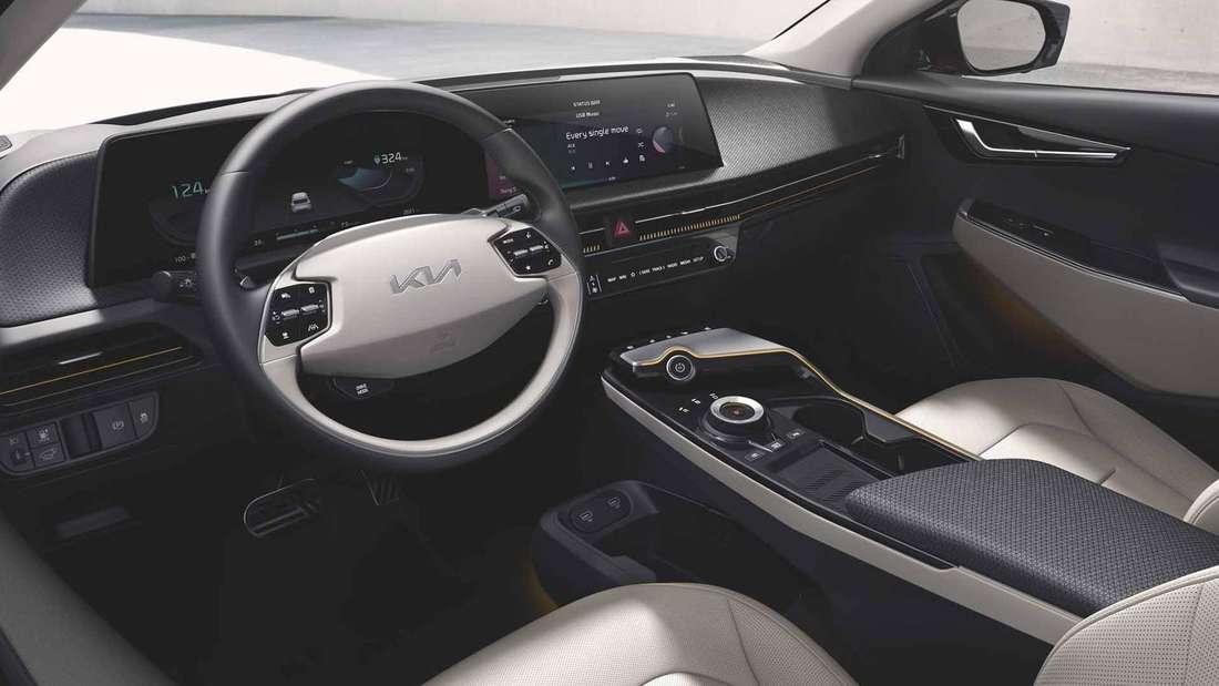 Das Innenleben des neuen Kia EV6