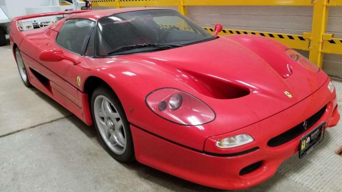 Ein Ferrari F50