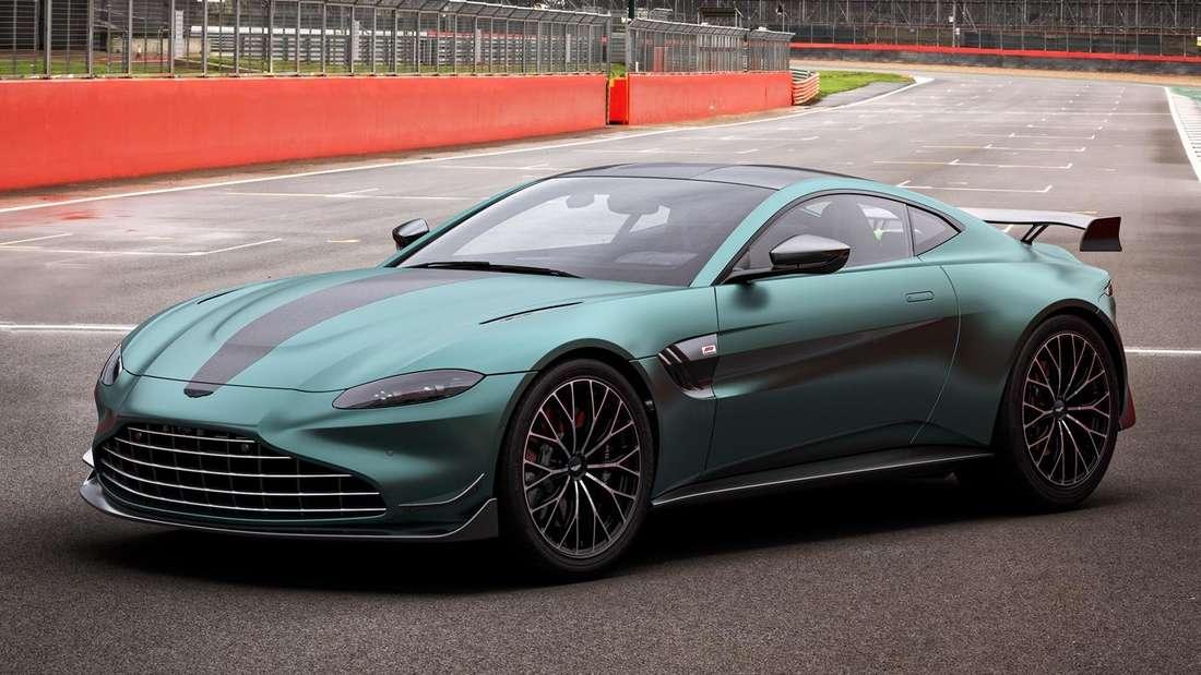 Ein Aston Martin Vantage F1 Edition