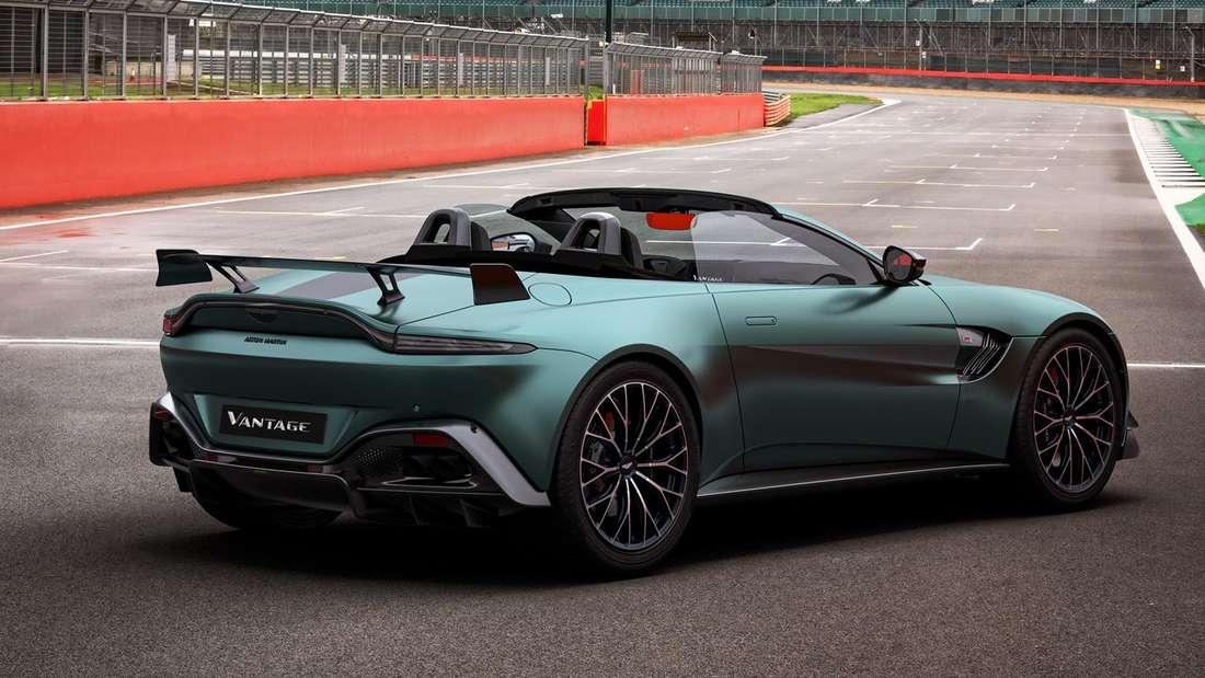 Ein Aston Martin Vantage Roadster F1 Edition