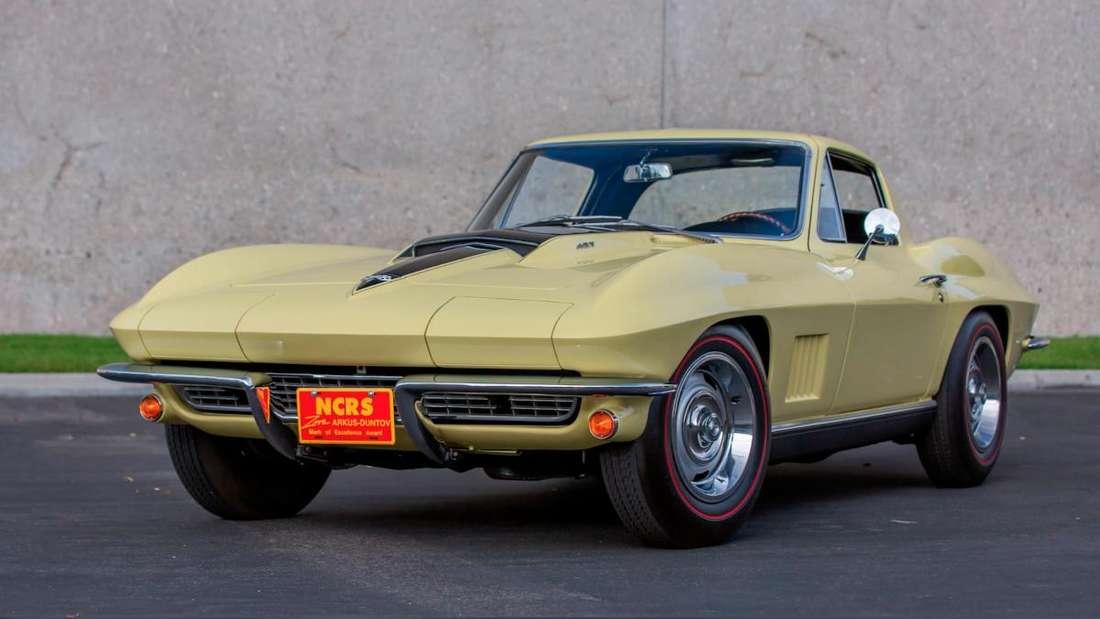 Eine 1967er Chevrolet Corvette L88