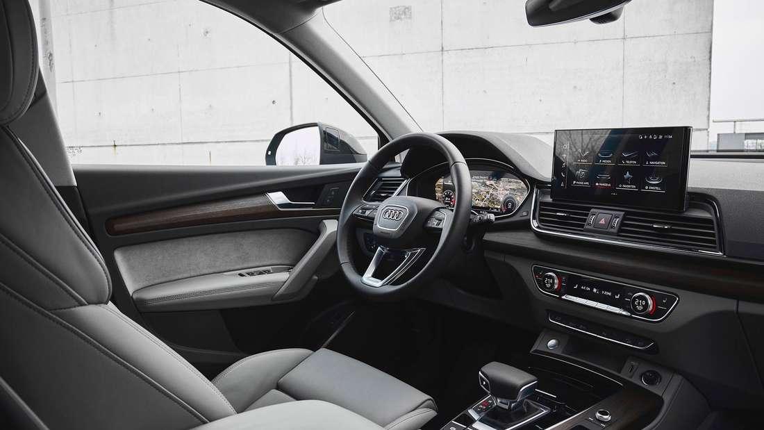 Blick in den Innenraum des Audi Q5