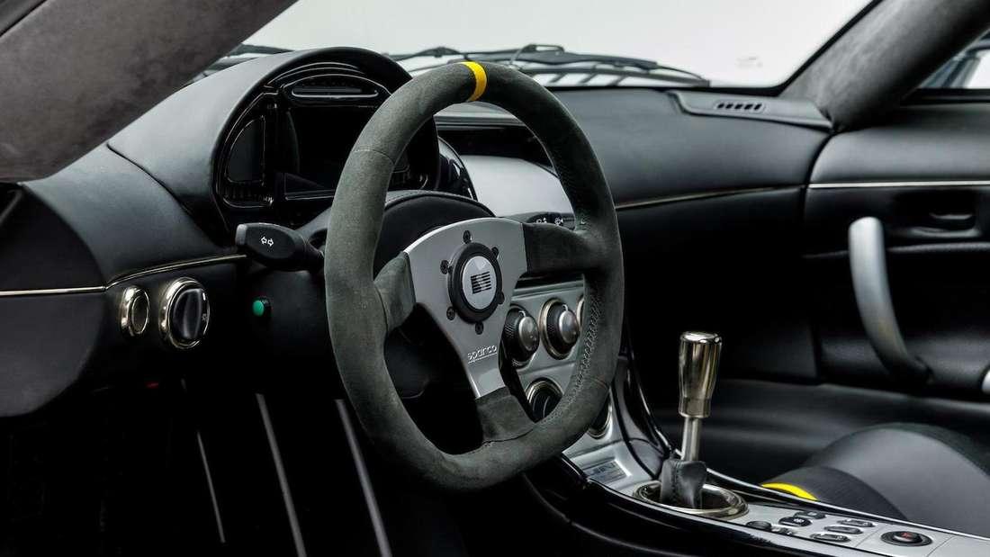 Blick in den Innenraum eines Saleen S7-LM