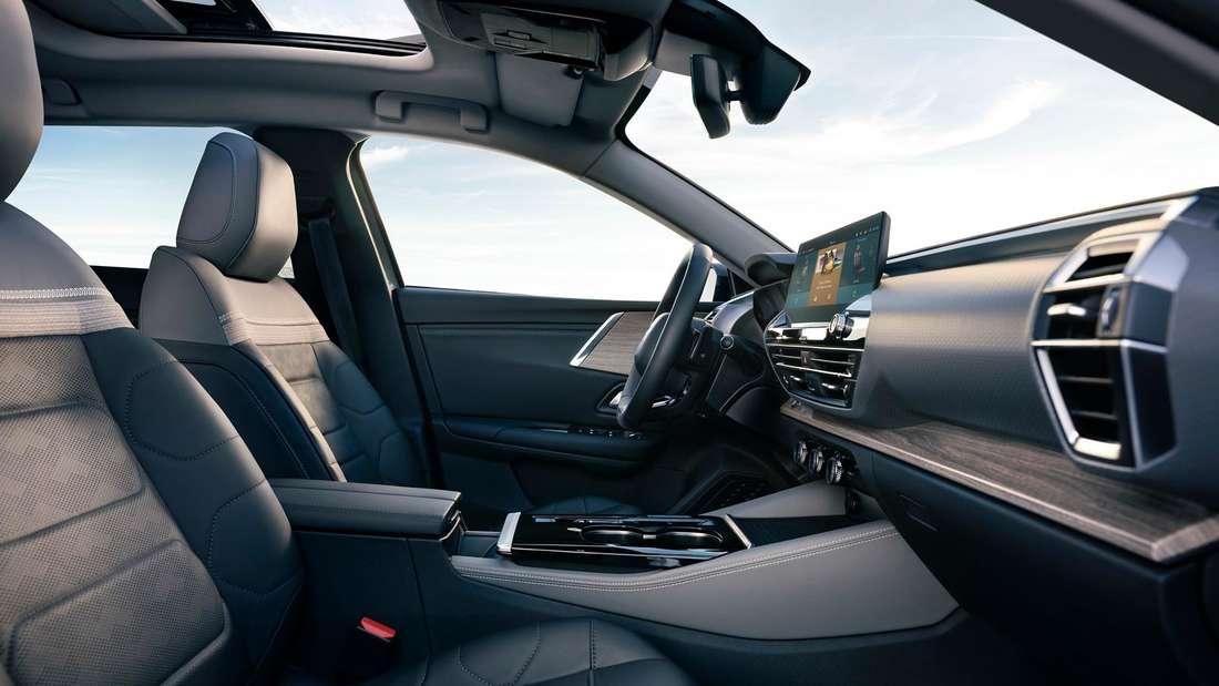 Blick in den Innenraum eines Citroën C5 X
