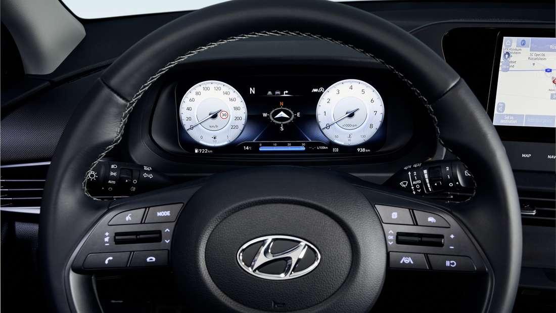 Das Cockpit des Hyundai Bayon