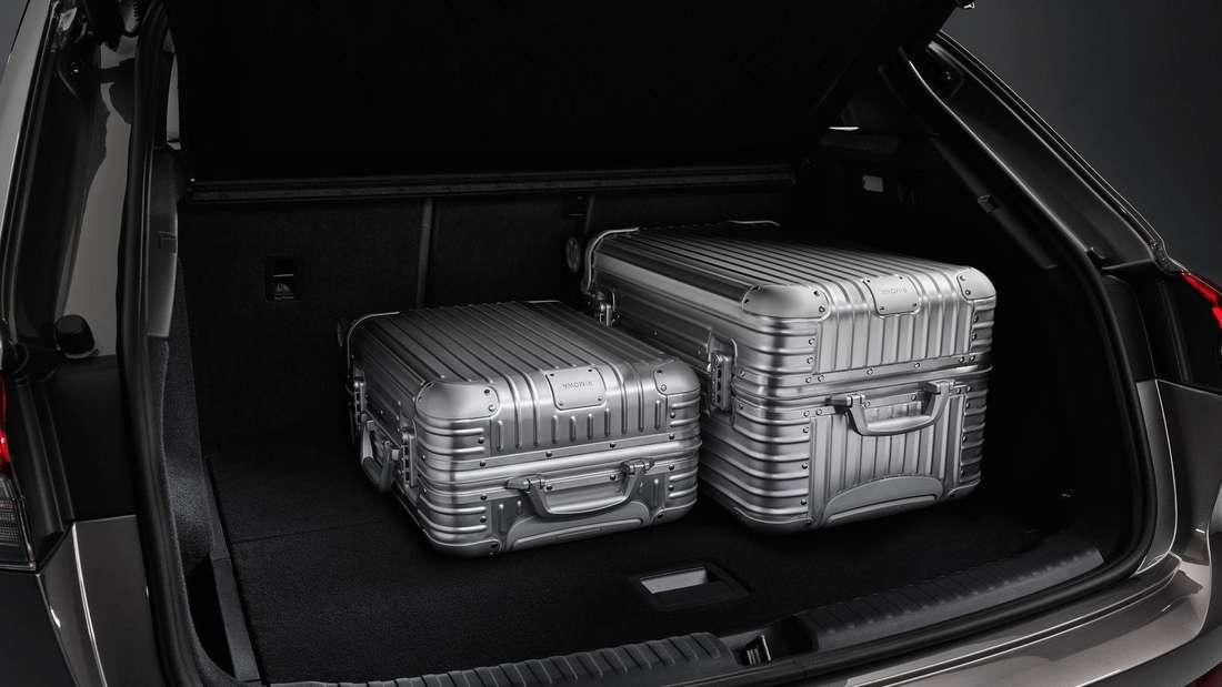 Der Kofferraum des Audi Q4 e-tron