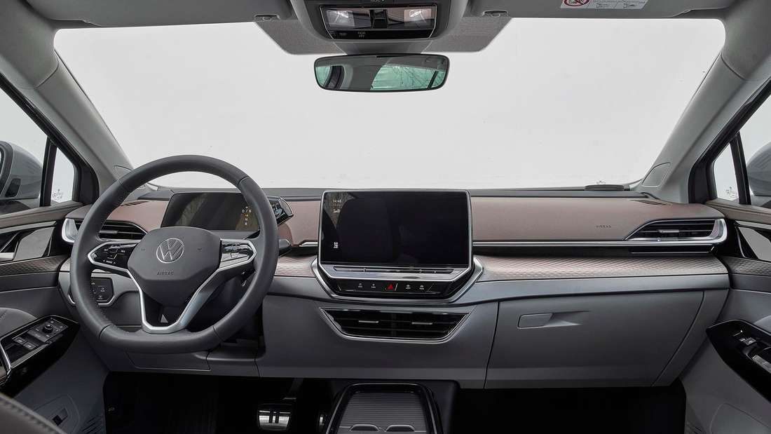 Blick in den Innenraum des VW ID.6