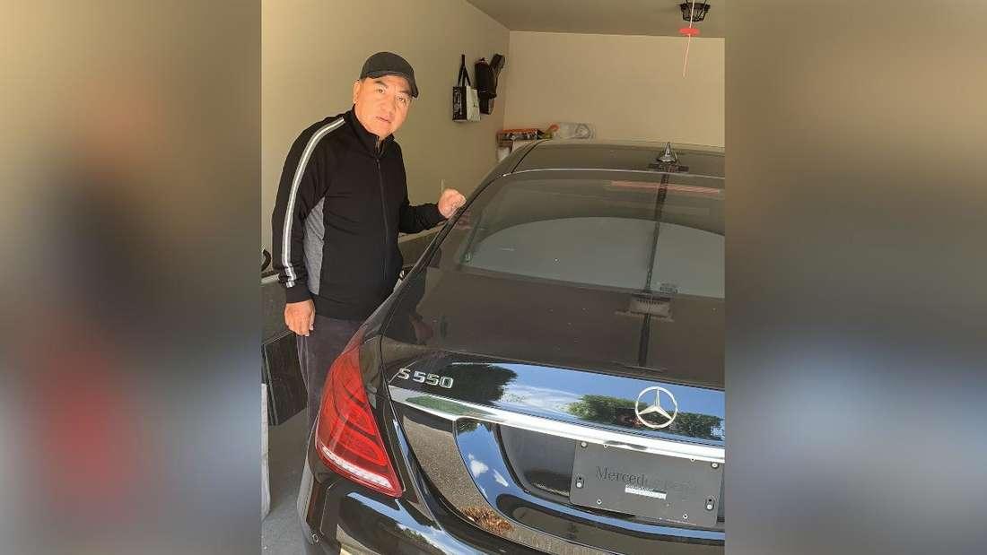 Der Kanadier Datong Yang und sein Mercedes S 550