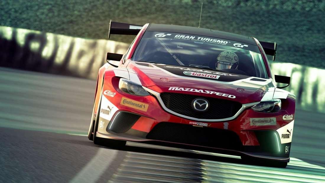 Szene aus dem Rennspiel Gran Turismo