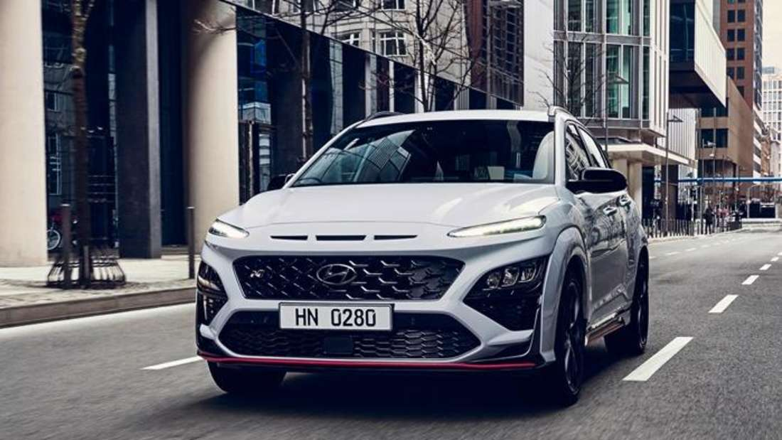 Der Hyundai Kona N von vorne
