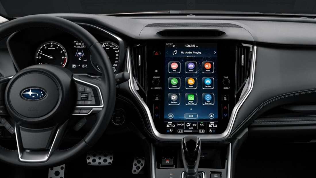 Cockpit des Subaru Outback