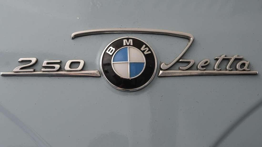 Modellbezeichnung einer BMW Isetta
