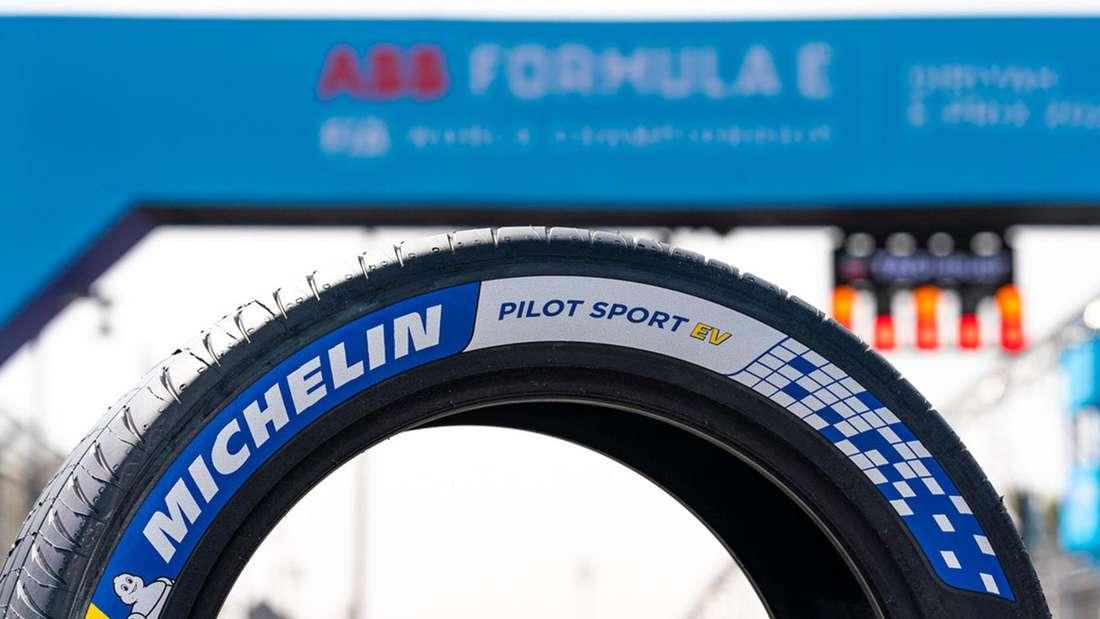 Nahaufnahme eines Reifen