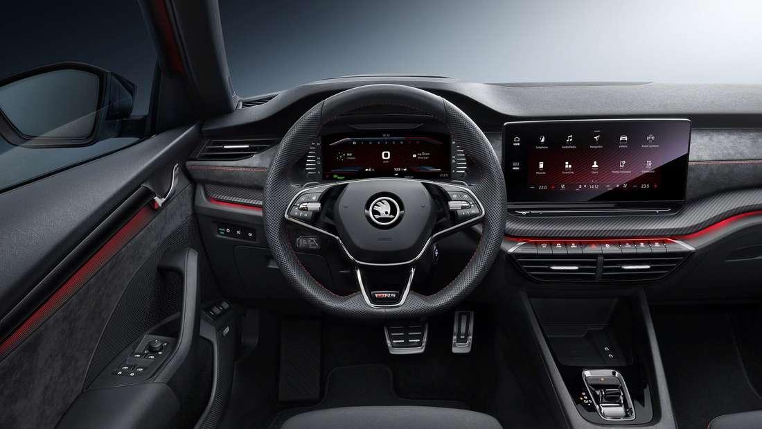 Innenraum des Škoda Octavia
