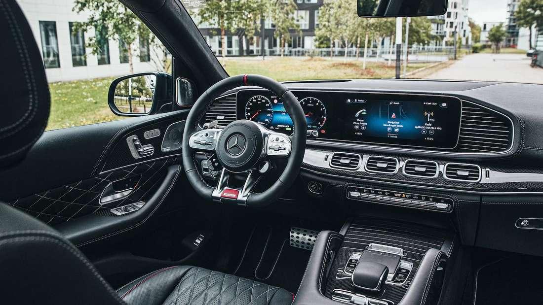 Das Cockpit des Brabus 800 Mercedes-AMG GLS 63