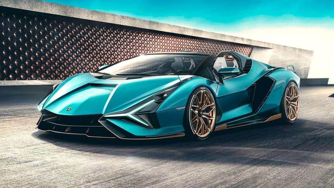 Lamborghini Sián, stehend