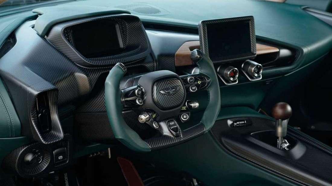 Das Luxus-Cockpit des Aston Martin Victor
