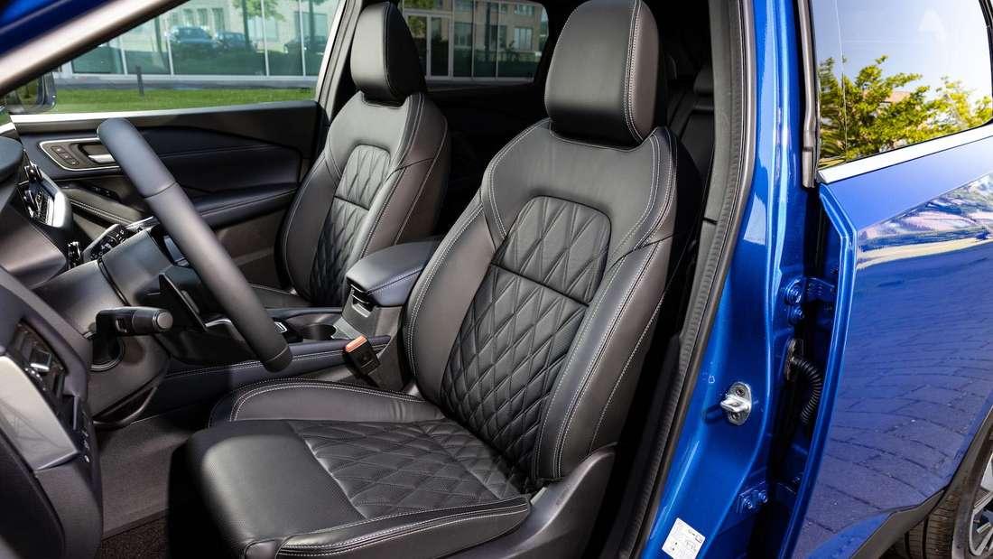 Der Innenraum des Nissan Qashqai 1.3 DIG-T 4x4