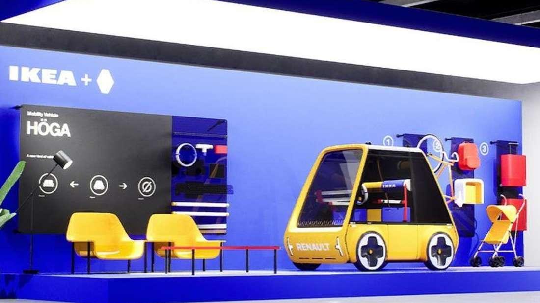 """Prototyp des E-Autos """"Höga"""""""