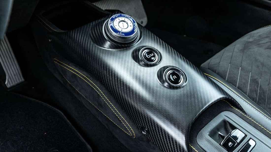 Maserati MC20 Mittelkonsole Drehrad