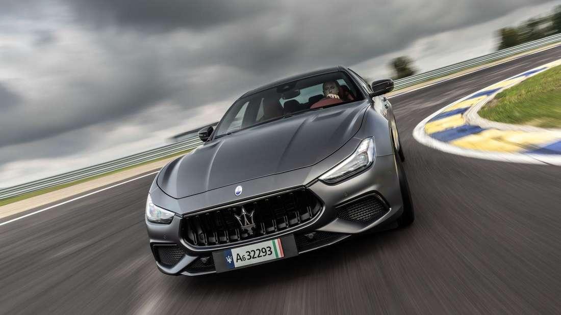 Maserati Ghibli Trofeo, fahrend