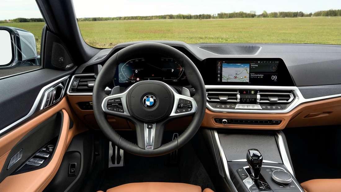 Innenraum des BMW 4er Gran Coupé 430i