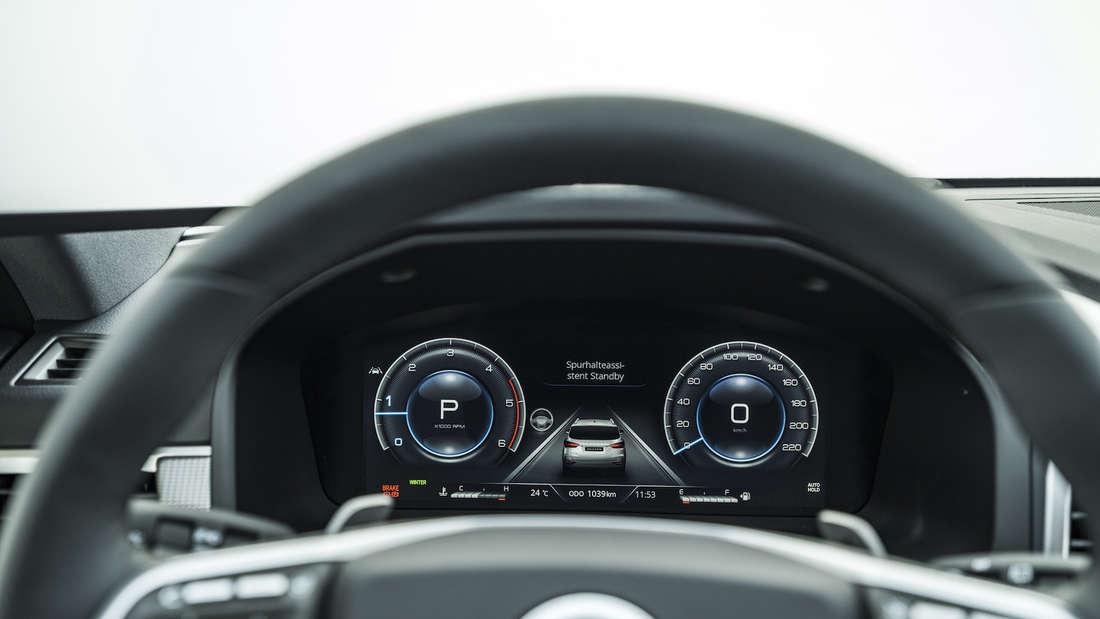 Cockpit des SsangYong Rexton