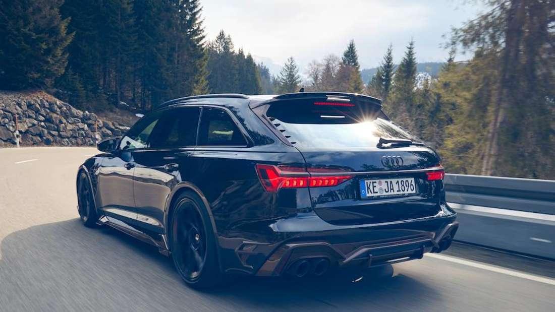 Abt Audi RS6 Johann Abt, fahrend