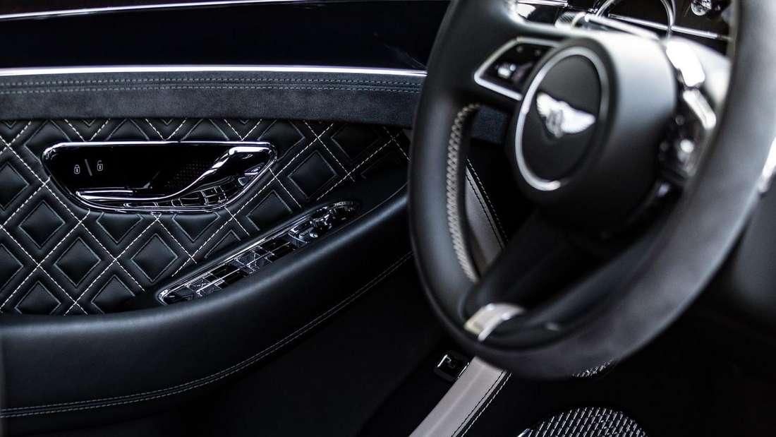 Interieur des Bentley Continental GT Speed