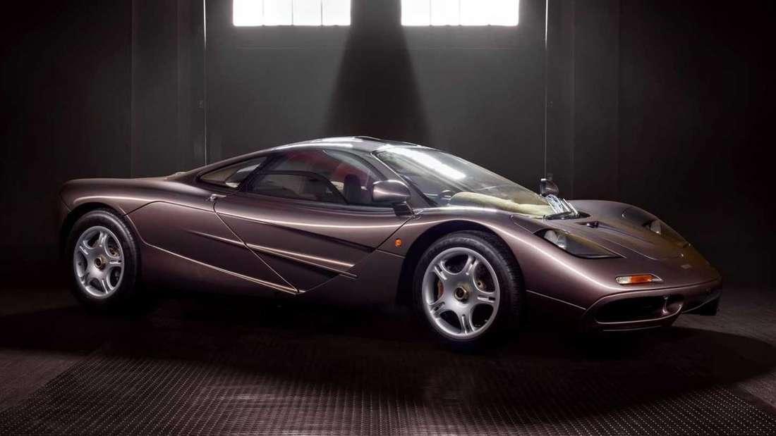 McLaren F1, stehend