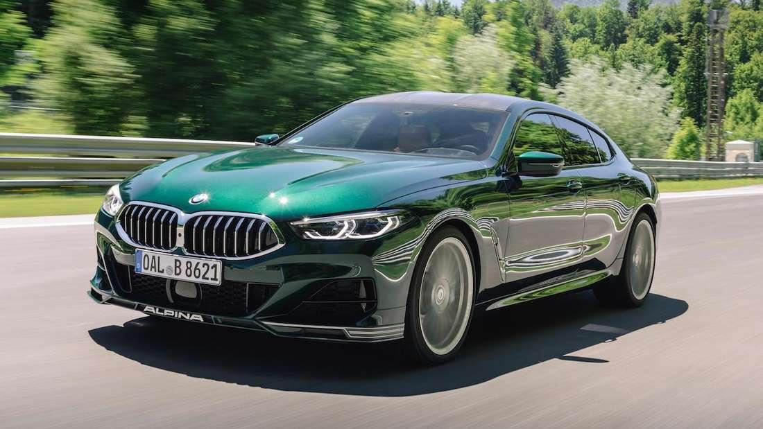 BMW Alpina B8 Gran Coupé, fahrend