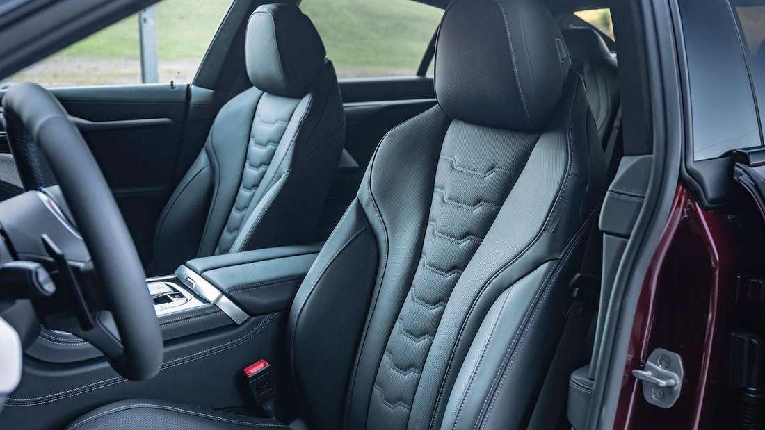 Interieur des BMW Alpina B8 Gran Coupé